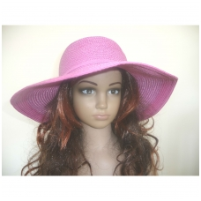 Plati stilinga vasarinė skrybėlė