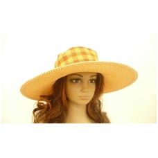 """Skrybėlė """"SAFARI"""" languota įvairių spalvų"""