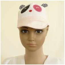 Vaikiška vasarinė kepurė su ausytėm