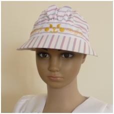 """Vaikiška vasarinė kepurė """"Zuikis"""""""