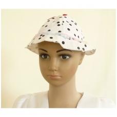 Vaikiška vasarinė taškuota kepurė