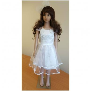 """Balta šventinė suknelė """"Vintage Style"""""""