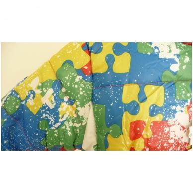 """Madinga spalvinga striukytė vaikams """"Puzzle"""" 5"""