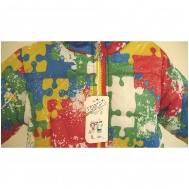 """Madinga spalvinga striukytė vaikams """"Puzzle"""" 3"""