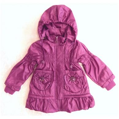 Madinga vaikiška striukė-paltukas mergaitėms 5