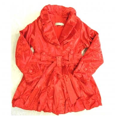 Madinga vaikiška striukė-paltukas mergaitėms 4