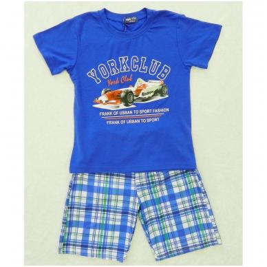 """Marškinėliai su šortais berniukams """"YORKCLUB"""" 2"""