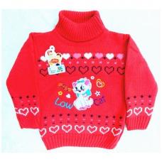 """Megztinis mergaitei """"Low Cat"""""""