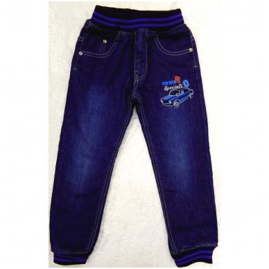 Pašiltinti džinsai berniukams