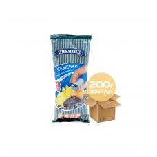 Skrudintos saulėgražų sėklos su jūros druska 200 gr.