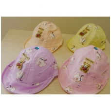 """Vaikiška vasarinė kepurė """"Paršiukas"""""""