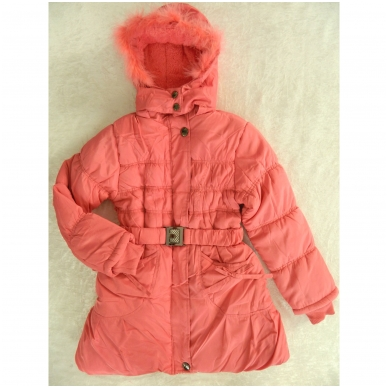 """Žieminė vaikiška striukė-paltukas """"Wild Girl"""" 4"""