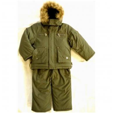Žieminis kombinezonas - striukė, snego kelnės ir liemenė 3